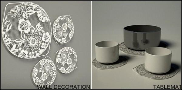 Декоративно-полезное кружевное сито Lace-Er Sieve