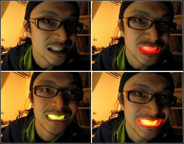 LED in my mouth. Светодиодная улыбка из Японии