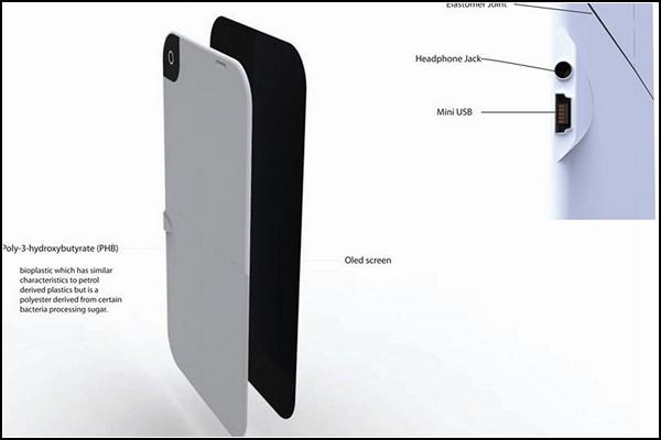 Концептуальный телефон-планшет LG PaperTouch