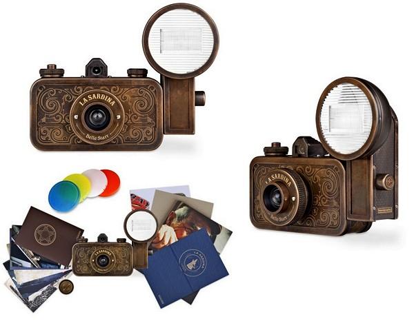 La Sardina: веселые аппараты  для разноцветной ломографии