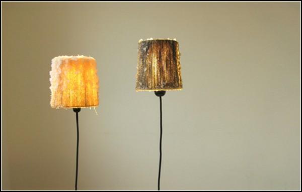 Светильник Salt Crystal Lamp из соли вместо стекла