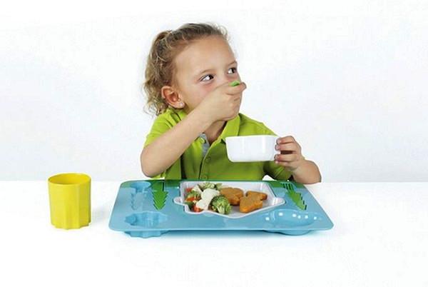 Landscape Dinner Set, пейзажная посуда для самых маленьких