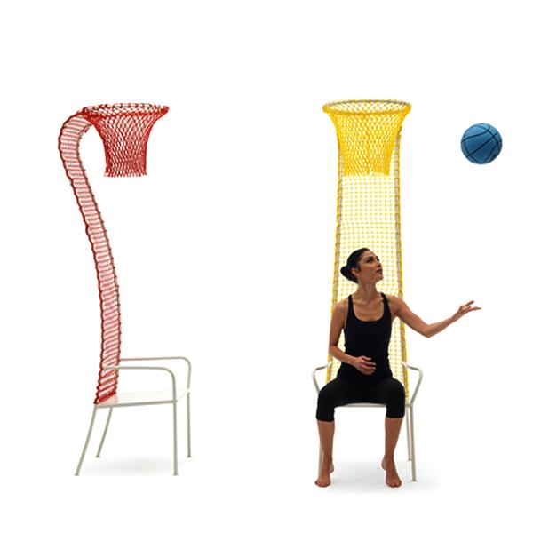 Стул Lazy Basketball chair для игры в ленивый баскетбол