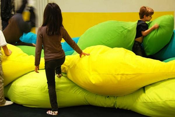 Разноцветные детские подушки от студии Les M