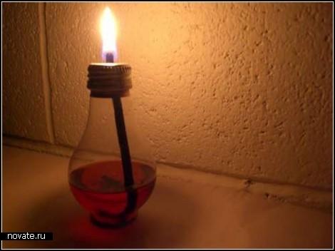 Обзор предметов, сделанных из сгоревших лампочек