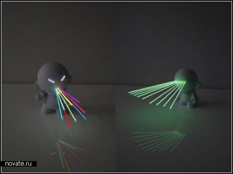 Эксклюзивные игрушечные *мутанты* Lightbotz от Маркуса Тремонто