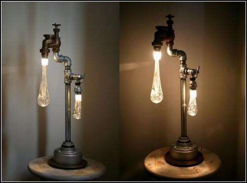 Выливающийся свет. Светильники Liquid Lights