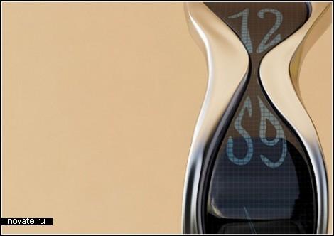 Концептуальные часы Liquid Time от Andy Kurovets