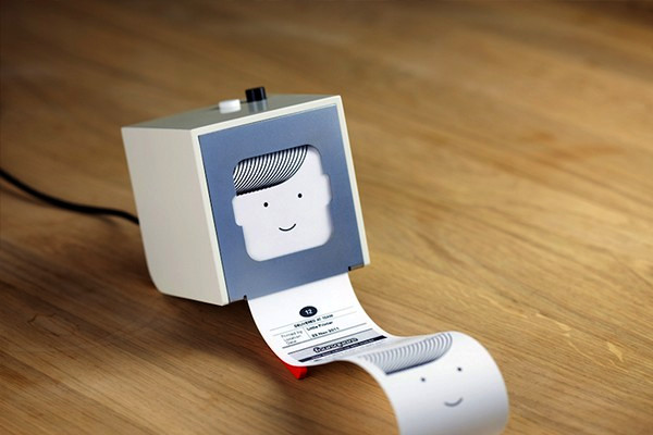 Little Printer, улыбающийся мини-принтер для распечатки RSS-подписки