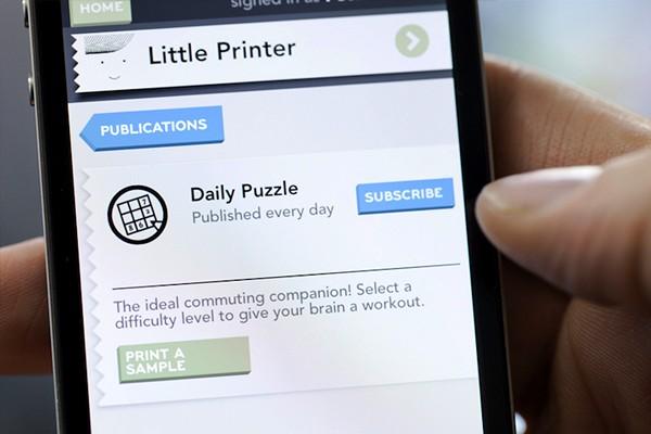Принтер-малютка Little Printer от Berg Cloud