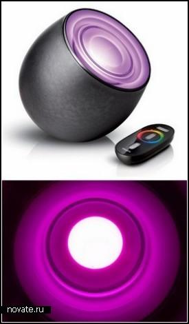 LivingColors lamp. Цветотерапия от Phillips