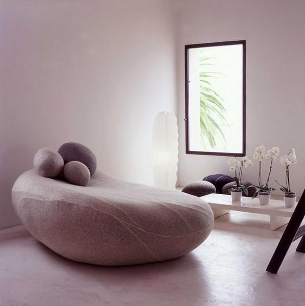 Шерстяные подушки-камни Livingstones