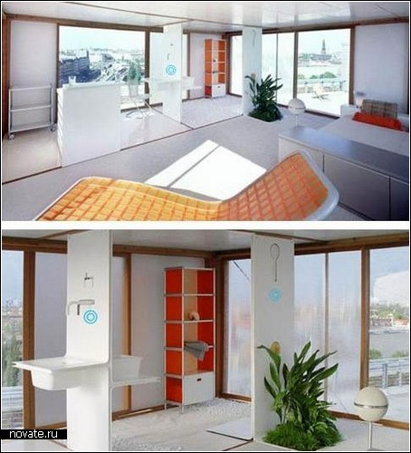 Loft Cube. Концептуальный дом для кочевников