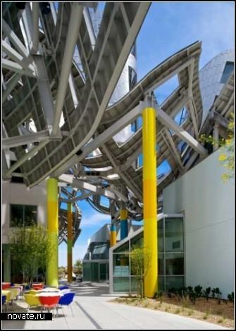 Психлечебница Lou Ruvo Center по проекту Фрэнка Гэри (Frank Gehry)