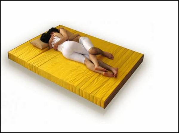 Проект матраса для тех, кто любит спать в обнимку