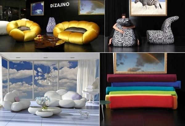 Стильная позитивная мебель от дизайн-студии DIZAJNO