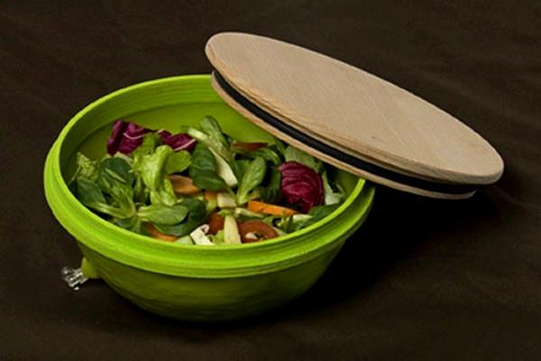 Мисочка для защиты завтрака. Элемент из набора посуды Healthier lunch break