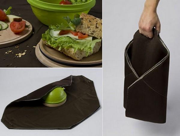 Дорожный набор посуды Healthier lunch break от Sabine Staggl