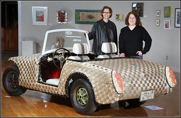 *Плетеный* эко-автомобиль Woven Car