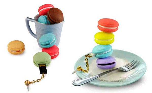 PQI Macaron: аппетитные флешки в виде разноцветного печенья