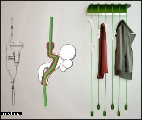 Вешалка для одежды от Массимо Батталья (Massimo Battaglia)
