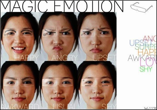 Концепт Magic Emotion Glasses, очки для тех, кто не скрывает эмоций