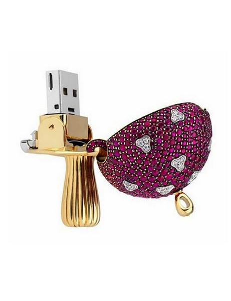 Magic Mushroom USB, драгоценная флешка от La Maison Shawish