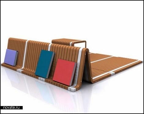 Деревянный ковер-трансформер Magic Rug