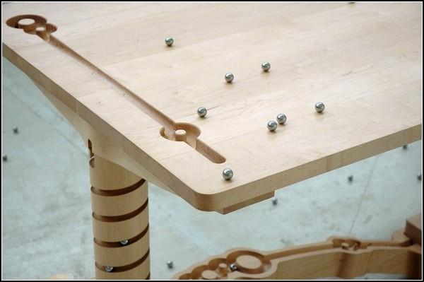 Marbelous Table. Необычная мебель для релакса