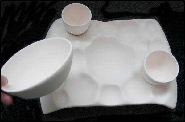 Random sushi tray. Новаторский поднос для суши