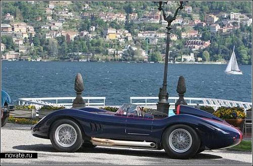 Maserati 250S. Гоночный ретро-кар