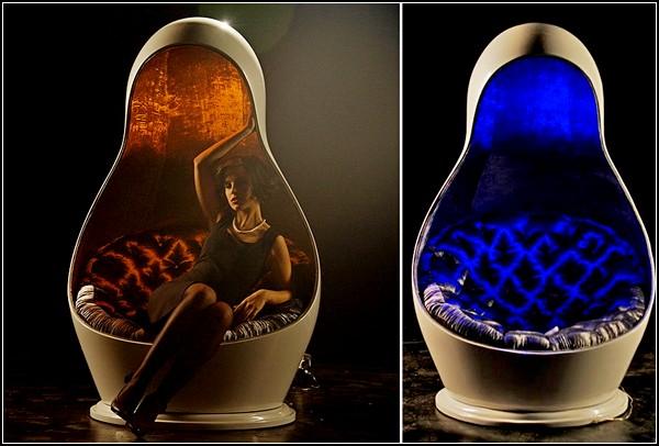 Matreshka Light Chair. И кресло, и лампа
