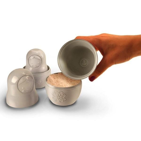 Чашки-матрешки Matryoshka Measuring Cups от Worldwide Fred
