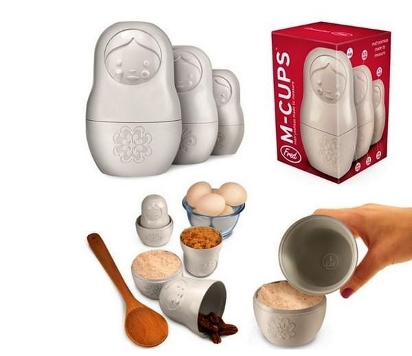 Matryoshka Measuring Cups, мерные чашки-стереотипы
