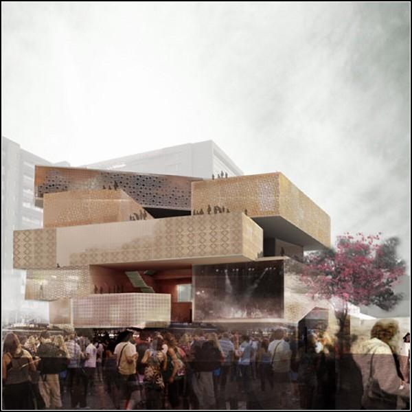 Modern Art Museum в городе Меделлин