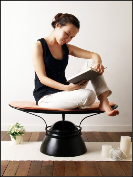 Meditation Everyday. Стул для медитации, вдохновленный левитацией