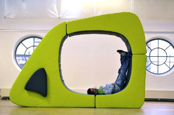 Melted CUBE, мягкая модульная мебель для просторных квартир