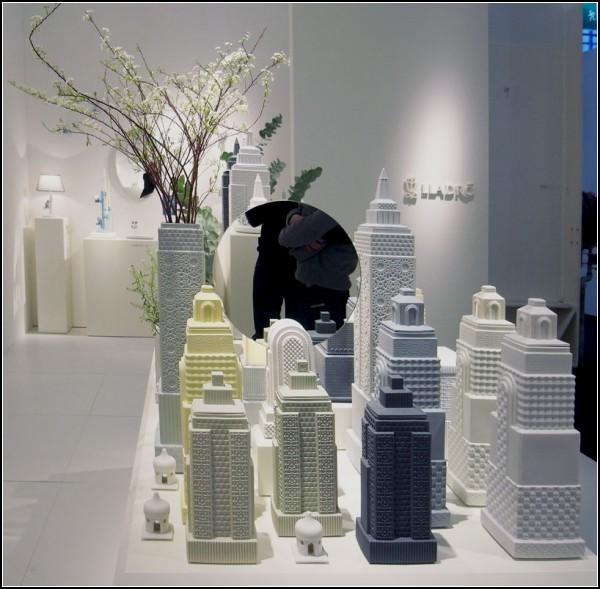 Metropolis: фарфоровый мегаполис в виде ваз, кувшинов и шкатулок