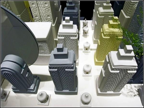 Metropolis: фарфоровый мегаполис от Atelier Lladro