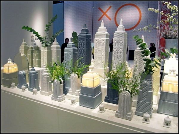 Metropolis: фарфоровый мегаполис с выставки Maison et Objet