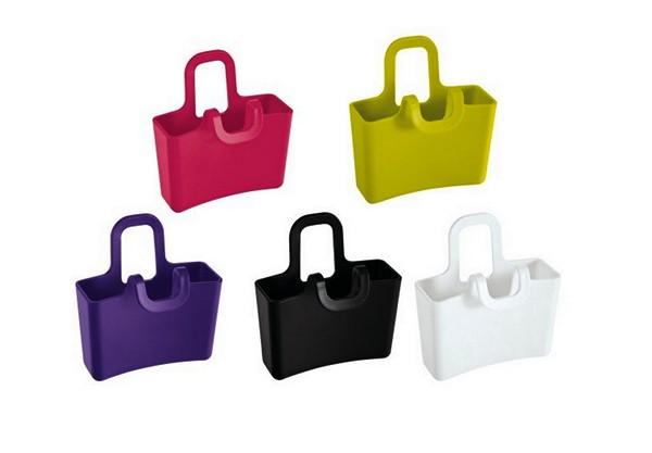 Разноцветные пластиковые сумочки Lilly от компании Koziol