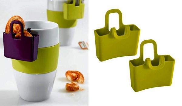 Mini Cup Carry-All: чайная чашка с сумочкой Lilly, местом для печенья, пакетика чая или сахара