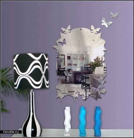 Зеркала-стикеры от Tonka Design