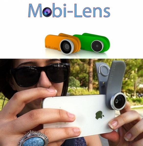 Mobi-Lens, объективы-прищепки для творческой фотосъемки на телефон