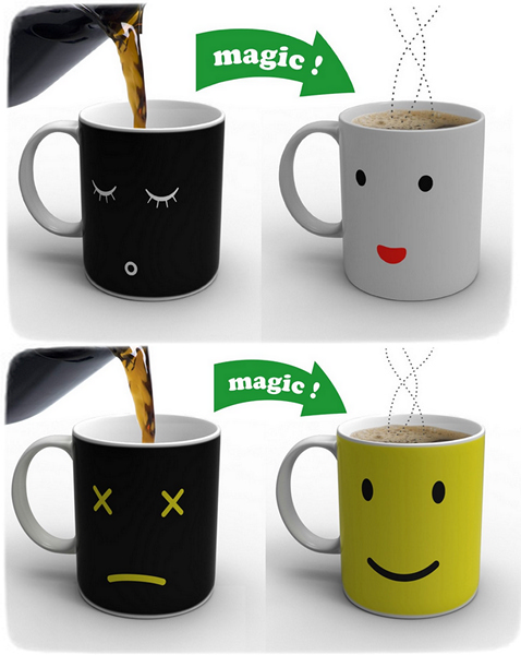 Кружки Morning Mug и Monday Mug от  Damion O`Sullivan