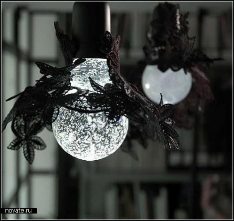 Кружевной абажур  MothEaten Light