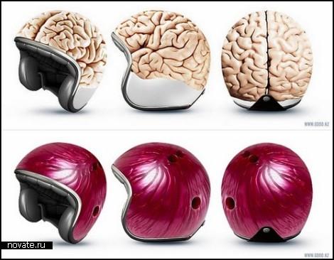 Дизайнерские мотоциклетные шлемы от компании GOOD