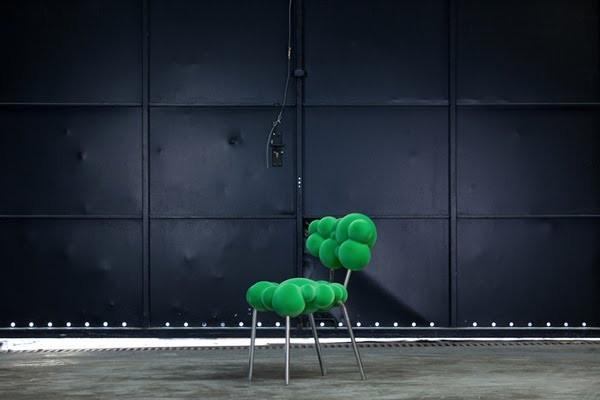 Мебель Mutation Series, выросшая словно сама по себе