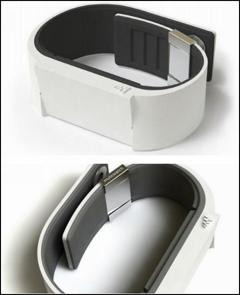 Часы-браслет Mutewatch без экрана и без звука