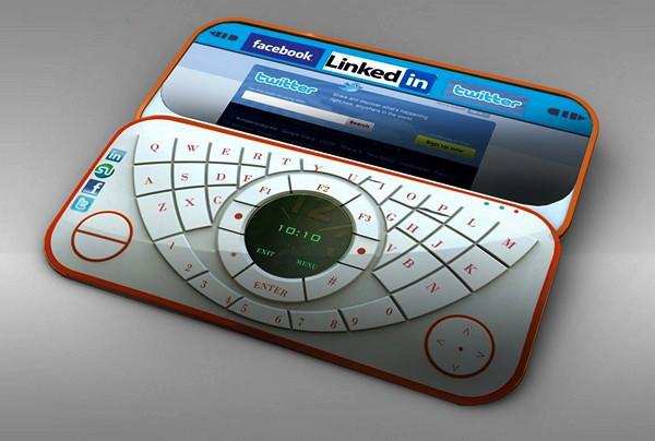 MYbox, концепт миниатюрного нетбука для соцсетей